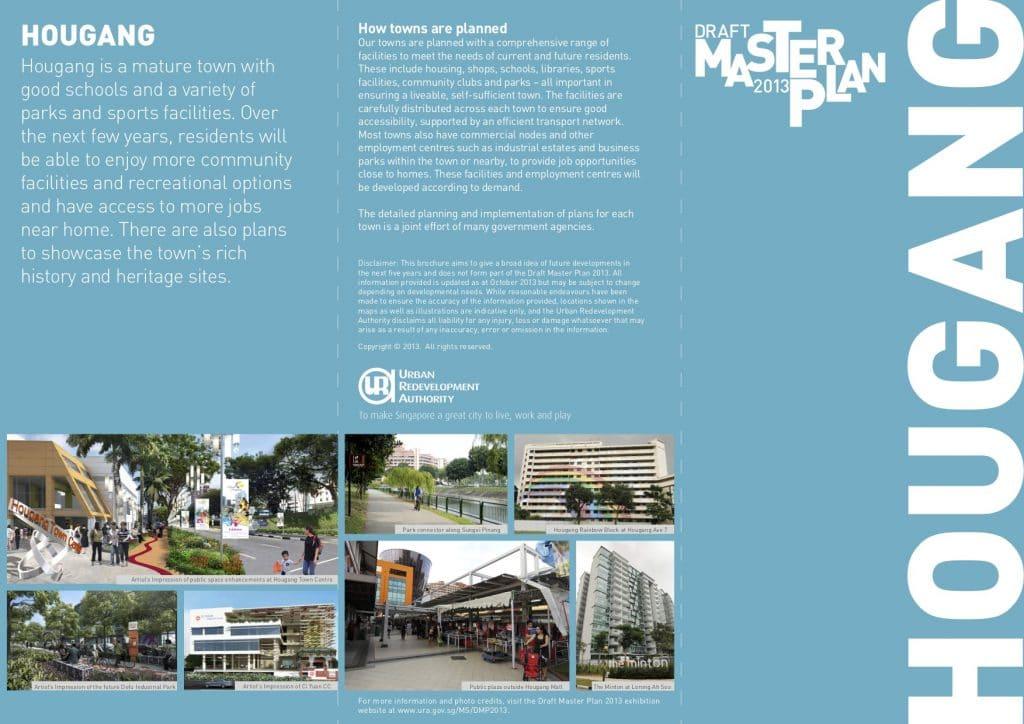 Master Plan For Hougang