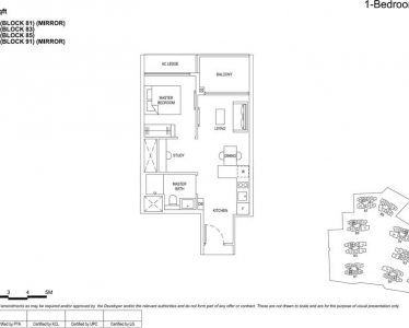 The florence residences floor plan 1s1