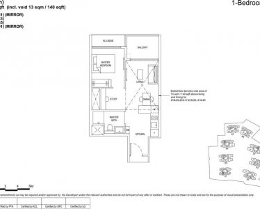The florence residences floor plan 1s1(PH)