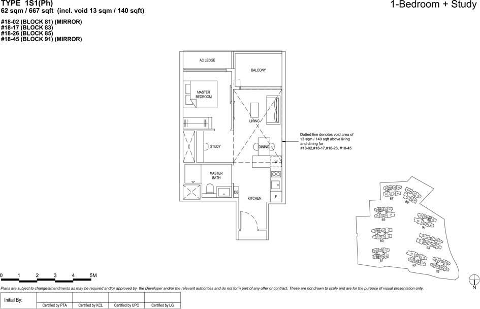 The florence residences floor plan 1s1(PH)