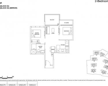 the florence residences floor plan type 2c2