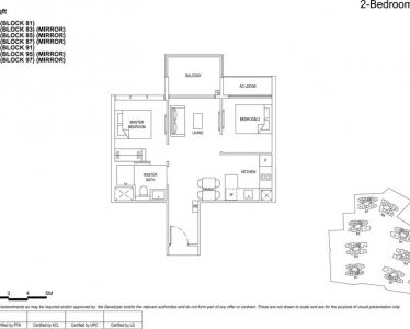 the florence residences floor plan type 2c3