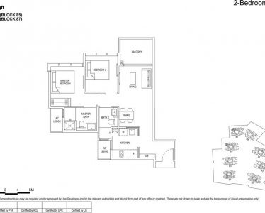 the florence residences floor plan type 2d5