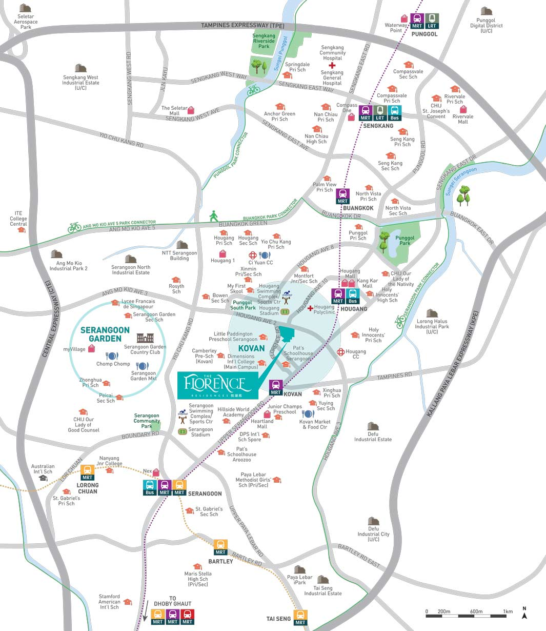 the-florence-residences-kovan-location-map