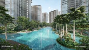 The Florence Residences Condo Hougang Logan Newly Released Island Pool